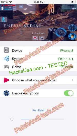 Enemy Strike 2 Hack - patch and cheats for Bullets, Gold and other stuff on Anroid and iOS