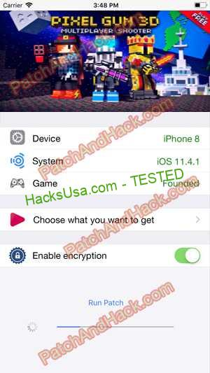 Pixel Gun 3D Hack - patch and cheats for Money,crystals and other stuff on Anroid and iOS