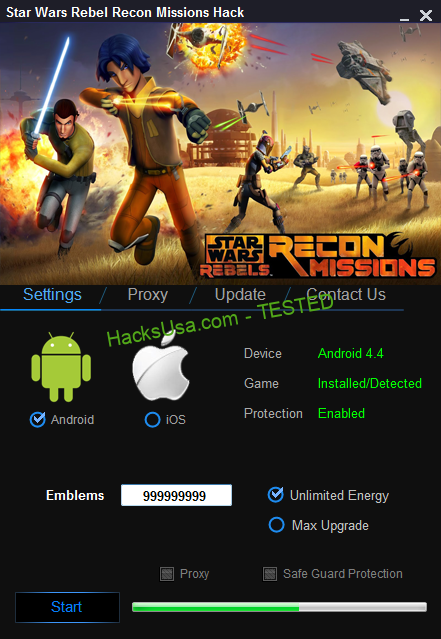 Star Wars Rebels Recon Missions Hack Unlimited Emblems, Unlimited Energy