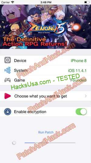 ZENONIA 5 Hack - patch and cheats for Money and other stuff on Anroid and iOS
