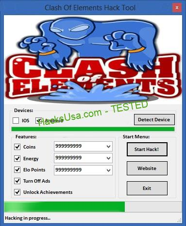 Clash Of Elements Hack Coins Add Unlimited Energy