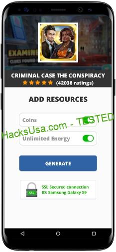 Criminal Case The Conspiracy MOD APK Unlimited Coins Energy