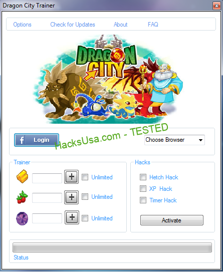 Dragon City Hack food Unlimited gold Unlimited gems
