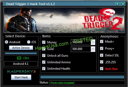 Dead Trigger 2 Hack cash Unlimited gold
