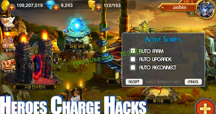 Heroes Charge Hack Add Unlimited Gems