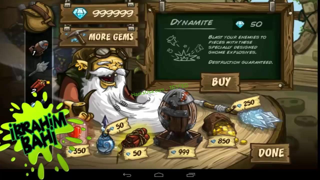 Kingdom Rush Frontiers Hack Coins Add Unlimited Gems