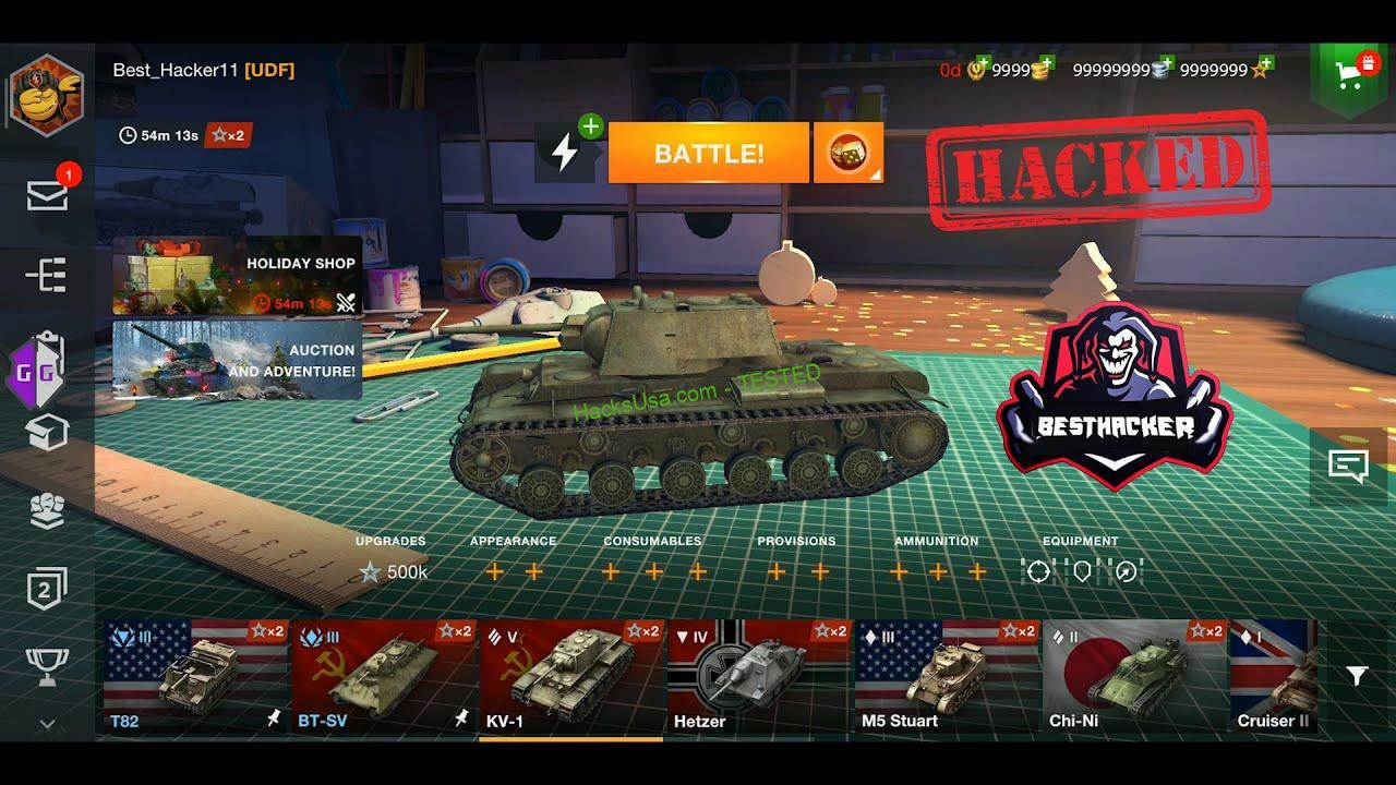 World Of Tanks Hack get unlimitedhp, exp, gold, ammo, credits