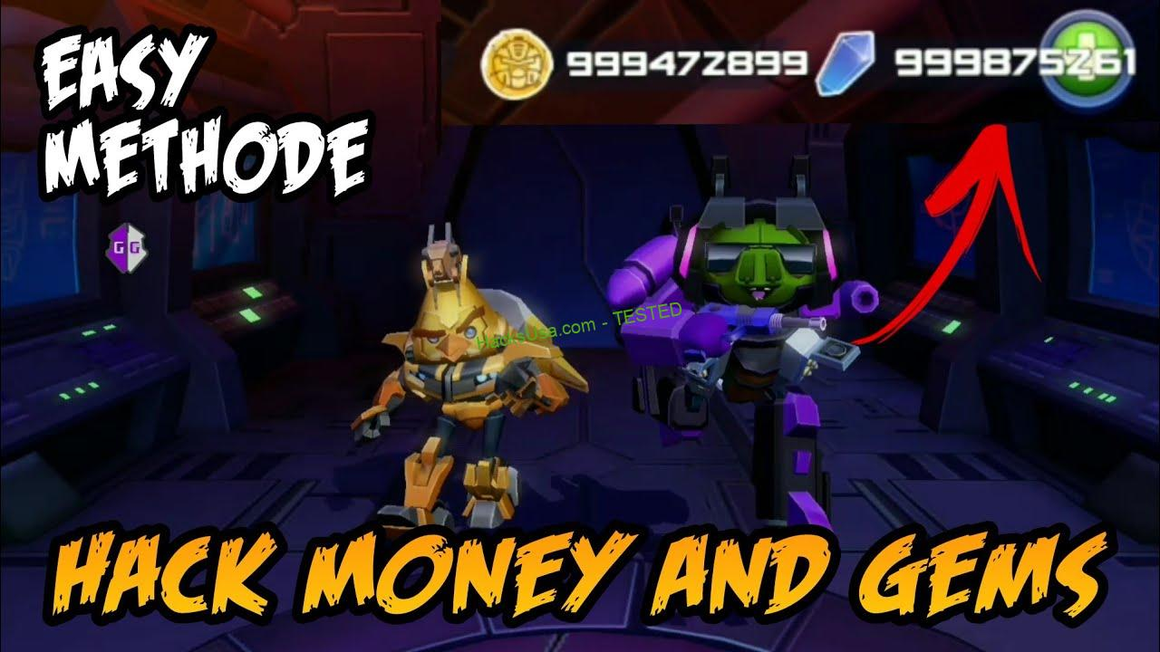 Angry Birds Transformers Hack Unlimited credits 2