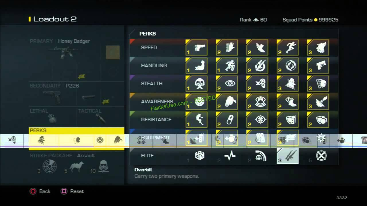 Call of Duty Ghosts Prestige Hack prestige level Unlimited weapons