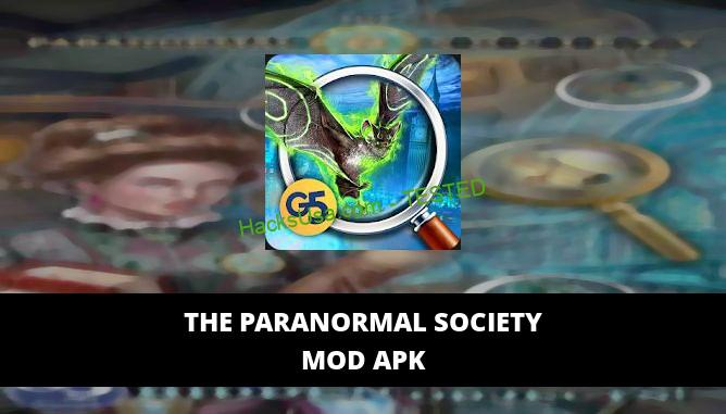 The Paranormal Society Featured Cover