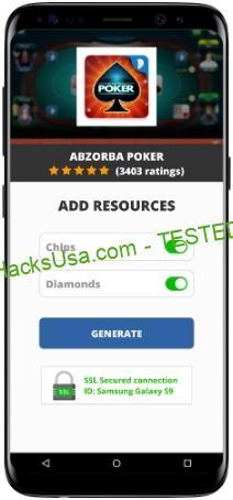 Abzorba Poker MOD APK Unlimited Chips Diamonds