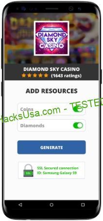 Diamond Sky Casino MOD APK Unlimited Coins Diamonds