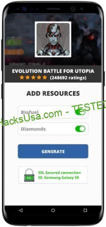 Evolution Battle For Utopia MOD APK Unlimited Biofuel Diamonds