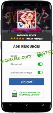 Fashion Fever MOD APK Unlimited Coins Diamond Energy