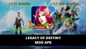Legacy of Destiny Featured Cover