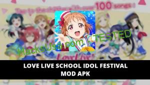 Love Live School idol festival Featured Cover