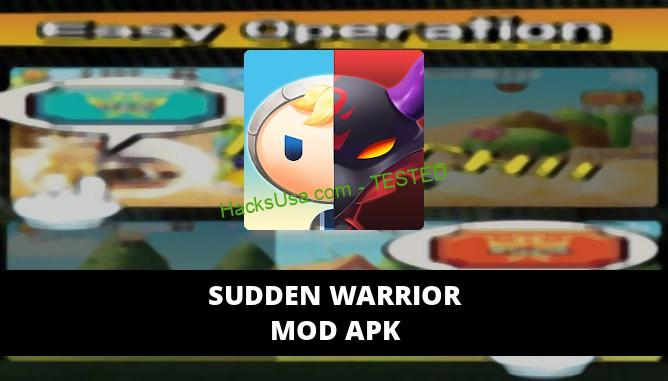 Sudden Warrior Featured Cover