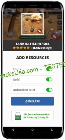 Tank Battle Heroes MOD APK Unlimited Coins Gold Fuel