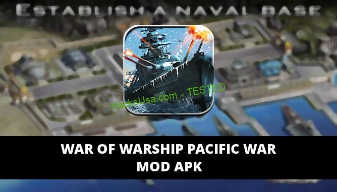 War of Warship Pacific War Featured Cover