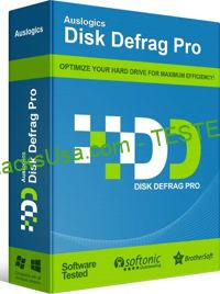 Auslogics Disk Defrag Professional 9.5.0.1 with Key