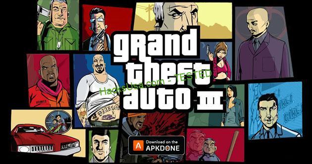Grand Theft Auto 3 MOD APK Unlimited Money