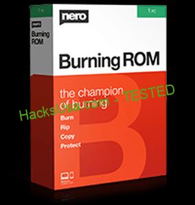 Nero Burning ROM 2020 Crack With Keygen + Serial Key