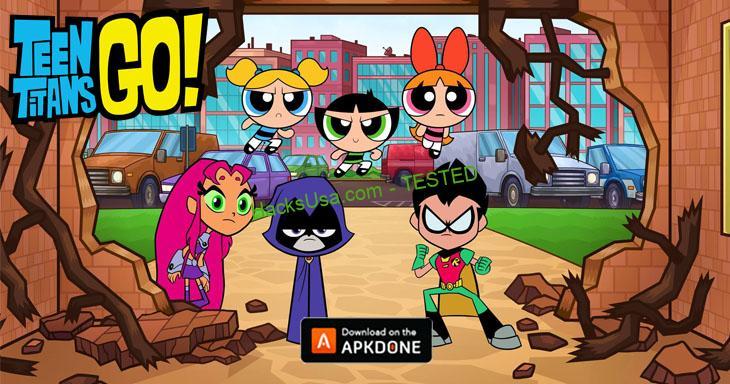 Teeny Titans: Teen Titans GO MOD Unlimited Money