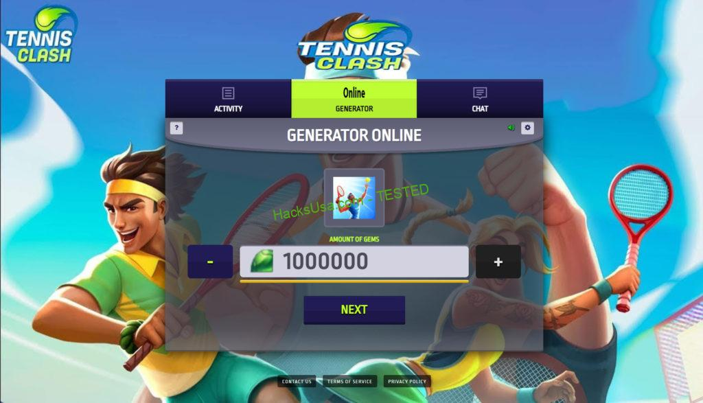 Tennis Clash Hack mod for Gems and Coins