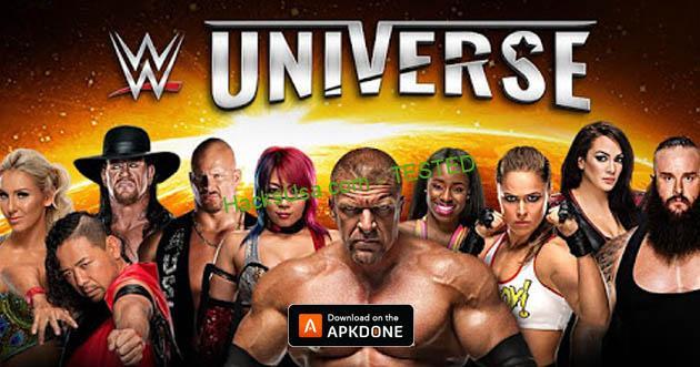 WWE Universe MOD Unlimited Drafts
