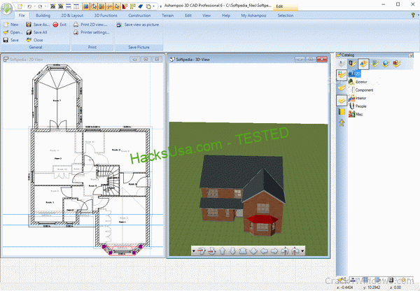 Ashampoo 3D CAD Professional 7.0.0 Crack + License Key Updated