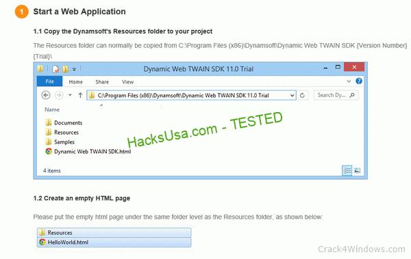 Dynamic Web TWAIN 16.1.1 Crack + Activator