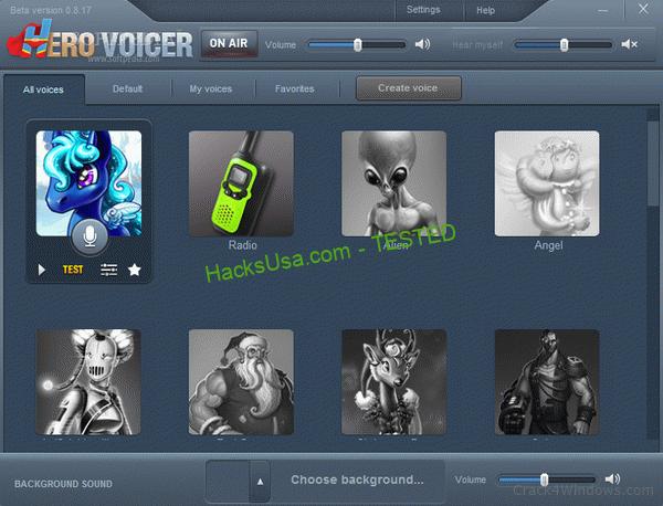 Hero Voicer 0.8.17 Beta Serial Number Full Version