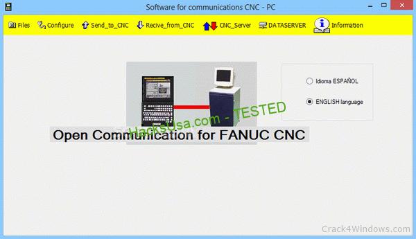 Communication Software for FANUC CNC 88.6 Crack With Keygen Latest