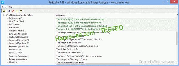 PeStudio 9.07 Crack + Serial Key Updated