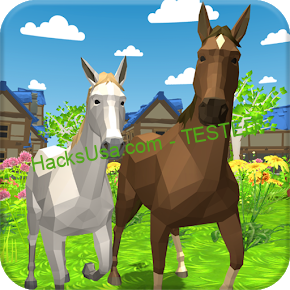 Horse Family – Animal Simulator 3D Ver. 1.046 MOD APK | UNLIMITED GOLD | UNLIMITED FOOD | NO ADS