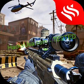 Modern Air Strike - FPS Sniper Gun Shooting Games Ver. 9 MOD APK GOD MOD NO ADS