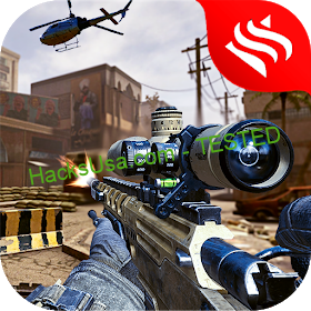 Modern Air Strike - FPS Sniper Gun Shooting Games Ver. 9 MOD APK GOD MOD NO ADS