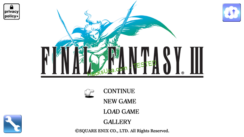 FINAL FANTASY III MOD Unlimited Money