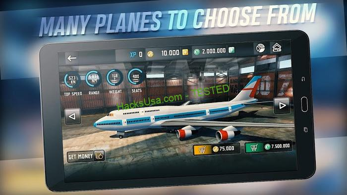 Flight Sim 2018 (MOD, Unlimited Money)