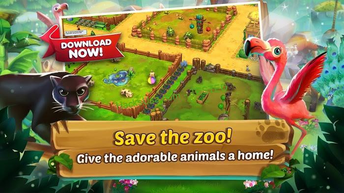 Zoo 2: Animal Park (MOD, Coins/Diamond)
