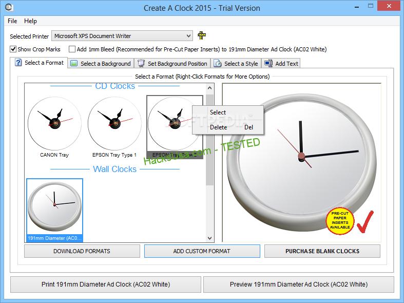 Create a Clock cracked2
